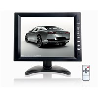 "10.4""  4 AV in (BNC or RCA) CCTV LED monitor"