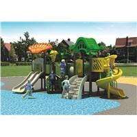 Plastic children outdoor swing playground (12011A)