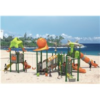 Large outside children playground from China (12024A)
