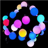 Holiday Lighting String Christmas Lights Led Ball Bulb