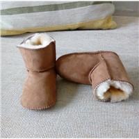 CE Safety Australia Merino Sheepskin Newborn Baby Shoes Kids Snow Boots