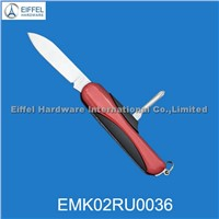 2 in 1 Promotional stainless steel gift knife( EMK02RU0036)