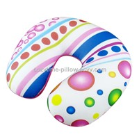 full printed travel neck pillow