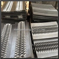 stair treads Perforated Metal/Galvanized perforated stair treads