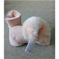 Purely Handmade Sheepskin Leather Soft Baby Shoes