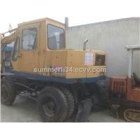 used Komatsu wheel excavator PW60 excavator