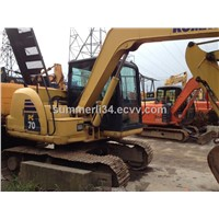 used mini excavator Komatsu PC70-8 at high quality