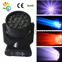 19PCS*15W RGBW(4-in-1)Led Bee Eyes beam Moving Head Light