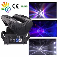 8*10w spider beam led light