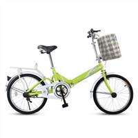 Folding Bicycle male and female  Lady bike 16/20inch QH288