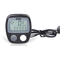 Wired muti-function bike & bicycle computer speedometer