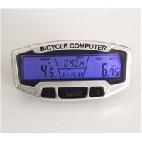 Wired muti-function bike & bicycle computer speedometer odometer