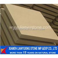 light beige sandstone  tile for paving