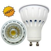 6W GU10 COB LED Spotlight / GU10 COB LED Bulbs