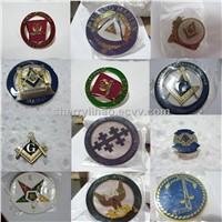 High Quality  Masonic Car Emblem,Cheap price Masonic Badges