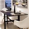 Foldable dining table,melamine veneer