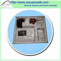 GSM/PSTN Dual Network Home Alarm System