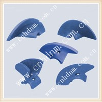 asphalt paver spare parts wear steel alloy auger impeller