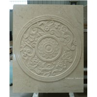 Natural marble 3d wall cladding tile