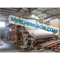 high speed toilet paper making machine