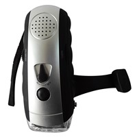 provide Radio Flashlight,dynamo flashlight,led flashlight DD-6