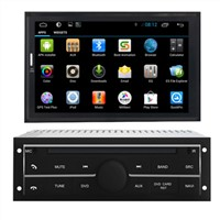 Auto GPS Car Navigation Mitsubishi L200 High Level Touch Screen Car DVD System