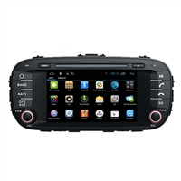 Dual Core Car Multimedia Navigation System for Kia Soul DVD Radio Player