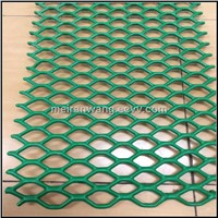 plastic coated expanded metal/Powder coated expanded metal mesh