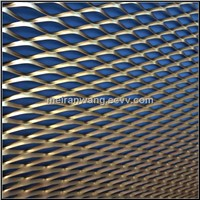 expanded metal sheet for building facade