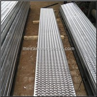 perforated plank grating/Perforated steel plank