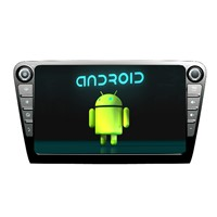 Factory 10inch Skoda Car GPS Navigation for Octavia Stereo Radio Android 4.2