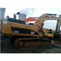 CAT 345D Hydraulic Excavator in shanghai 324D 325B 325C 325D 330B 330C 330D