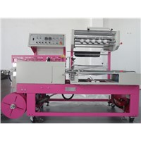 automatic toy box shrinking packing machine,PE Shrink Packing Machine for Toy Boxes
