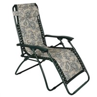 Teslin fabric zero gravity chair folding chair