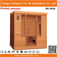 new design infrared sauna room KN-004A