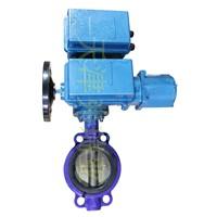 motorize butterfly valve, electric actutor butterfly valve