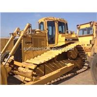 used CAT D6H bulldozer oiginal crawler bulldozer