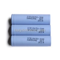 Samsung ICR18650-30B 18650 Li-ion battery 3.6V 3000mAh lithium Ion battery