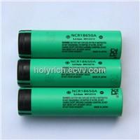 Panasonic NCR18650A Li-ion battery 3.6V 3100mAh lithium Ion battery