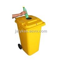 With lock/ waste bin/ trash bin/ garbage bin/indoor bin/plastic bin /dust bin/medical waste bin