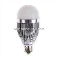 CE & Rohs approved E26/E27 base Solar use 9w 12v led bulb light