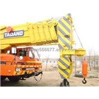 used tadano tg1600m truck crane original japan crane 160ton
