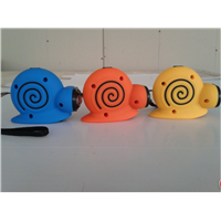 Snail hand crank flashlight,led torch,crank torch DD-075