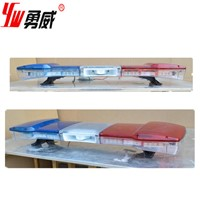 DC12V/24V red/amber/blue color police led roof light bar