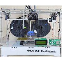 2 extruders 3d printing machine