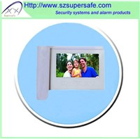 "7"" color TFT display villa video door phone with sensor buttons"
