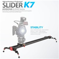"KONOVA Camera Slider Dolly K7 120 (47.2"") can Support Broadcast Camera like ENG camera"