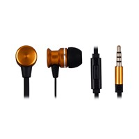 Stereo metal in-ear earphones custom logo