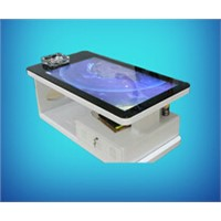 45inch touchscreen kiosk advertising signage table interactive touch tea table