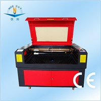 NC-1290 100W RECI tube CO2 laser cutter and engraver for sale